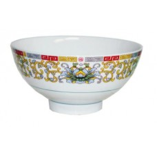 "6.8"" Deep Soup Bowl - Lotus Pattern"