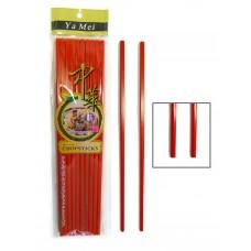 10-pr. Chopsticks (Red)