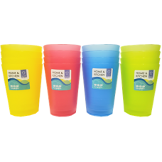 "4"" 4-pc Cup Pack (Mixed Colors)"