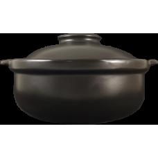 """10"""" Clay Pot-Deep (Black)"""