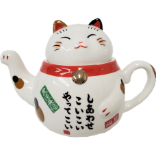 2-pc Lucky Cat Tea Set