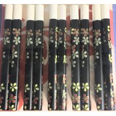 5-Pair Bamboo Chopsticks-White-25