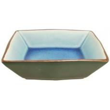 "4 3/4""; 1.5"" Deep Square Dish - Blue"