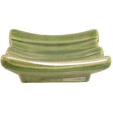 "4"" x 2.5"" Green Tidbit Dish"