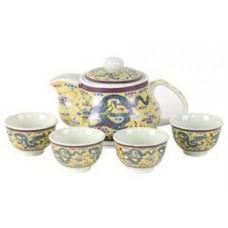 16oz Tea Pot; (4) 2oz Cups