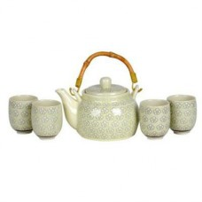 24oz Tea Pot; (4) 4oz Cups