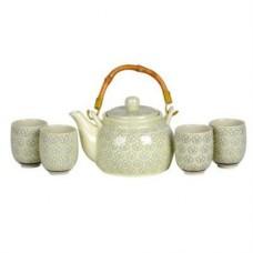 24oz Tea Pot; (4) 4oz Cups