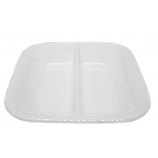 "White Porcelain Sauce Dish 3 1/16"" x 3 1/2"""