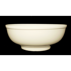 "8.25"" D x 3.25"" H Bowl White Porcelain"