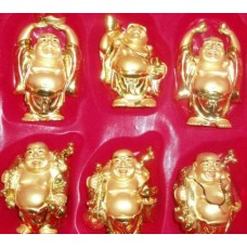 """3.5"""" Gold Buddha Set"""