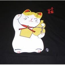 Kanji T-Shirt - Maneki Cat