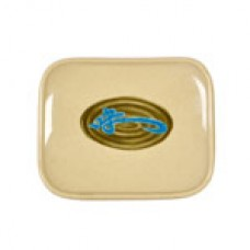 """Wei - 6 1/2"""" x 5 1/2"""" Square Shape Plate"""