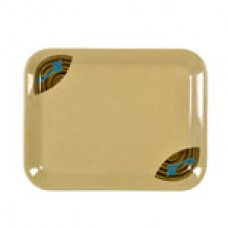 "Wei - 13 1/8"" x 10 1/4"" Square Tray"