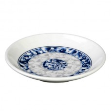 "Blue Dragon - 4 1/2"" Round Plate"