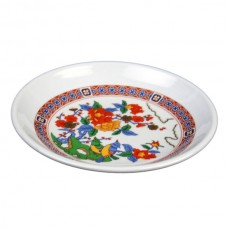 """Peacock - 4 1/2"""" Round Plate"""