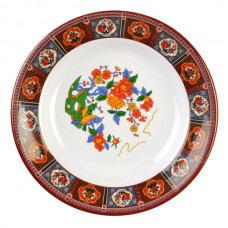 "Peacock - 6"" Soup Plate Peacock"