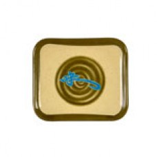 "Wei - 5 1/2"" x 4 3/4"" Square Shape Plate (M)"