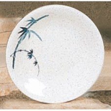 "Blue Bamboo - 7 3/8"" Round Dinner Plate"