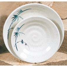 "Blue Bamboo - 5 1/8"" Soup Plate"