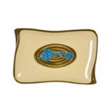 """Wei - 8 1/2"""" x 5 1/2"""" Wave Shape BBQ Platter"""