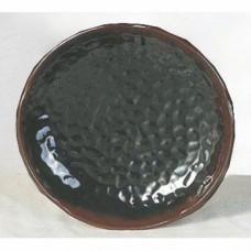 """Temoku - 7 1/4"""" Shape Plate"""
