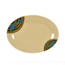 "Wei - 9 7/8"" x 7 1/4"" Oval Platter"