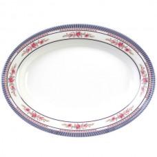 "Rose - 12"" x 8 5/8"" Oval Platter"