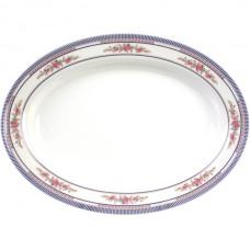 """Rose - 14 1/8"""" x 10 5/8"""" Deep Oval Platter"""