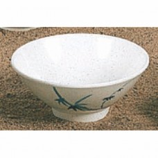 "Blue Bamboo - 4 1/3"" Rice Bowl"