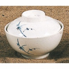 """Blue Bamboo - 4 2/5"""" x 2 2/5"""" Special Bowl"""