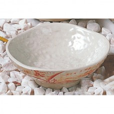 "Gold Orchid - 4 3/4"" Rice Bowl"