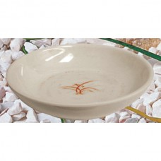 "Gold Orchid - 5"" Bowl (Flat)"