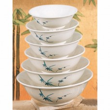 "Blue Bamboo - 11"" Chinese Noodle Bowl"
