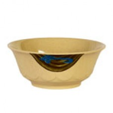 "Wei - 7 1/4"" Curved Noodle Bowl"
