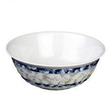 "Blue Dragon - 8"" Swirl Bowl"
