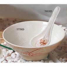 """Gold Orchid - 6 3/4"""" Soup Bowl 30oz"""