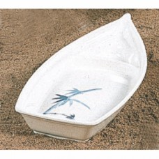 "Blue Bamboo - 16 1/4"" x 7 1/8"" General Boat - L"