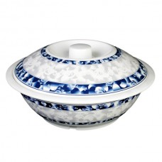 "Blue Dragon - 11"" Serving Bowl w/Lid"