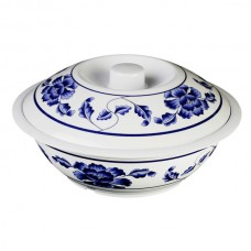 "Lotus - 11"" Serving Bowl w/Lid"