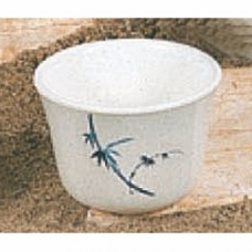 "Blue Bamboo - 3 1/8"" Small Tea Cup"