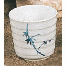 "Blue Bamboo - 3 1/2"" Tea Cup"