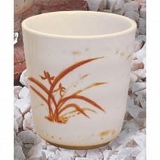 """Gold Orchid - 3 1/8"""" Mug"""