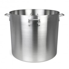 140 QT Aluminum Stock Pot with Quad Handles