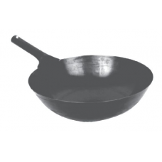 "14"" Heavy-Duty Cast Iron Taiwan Wok"