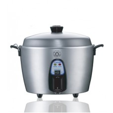 11 Cup Stainless Steel Rice Cooker & Steamer
