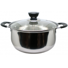 20cm Cooking Pot w/ glass lid