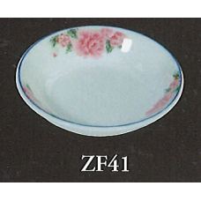"3.75"" Tidbit Dish - Rose Pattern"