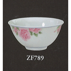 "4"" Bowl - Rose Pattern"