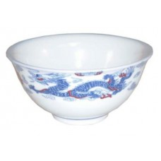 "4"" Bowl - Ceramic Blue Dragon Pattern"