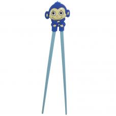 "Training Chopsticks 7""L - Blue Monkey"